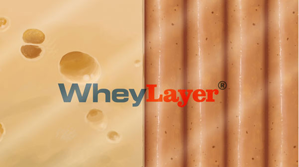 WHEYLAYER®, a registered trademark